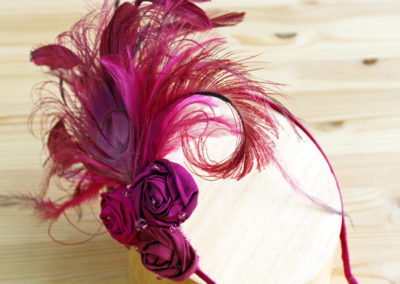 Pink Flapper Headdress