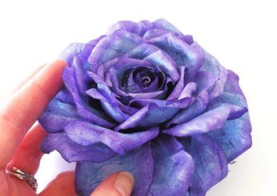 Violet silk Rose