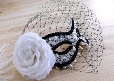 Masquerade Ball mask with veil