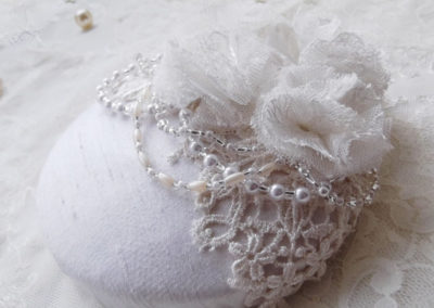 Bridal Button Hat