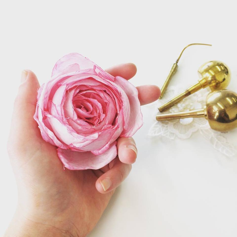Hand Crafted Silk Flowers Jessicouture