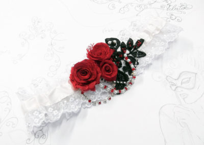 Painting the Roses Red Garter