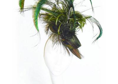 Olive Ascot Hat