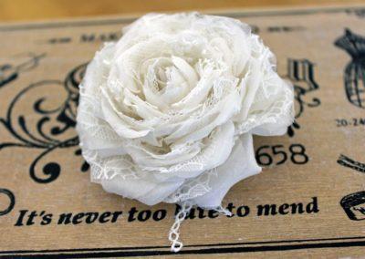 Ivory Lace Rose