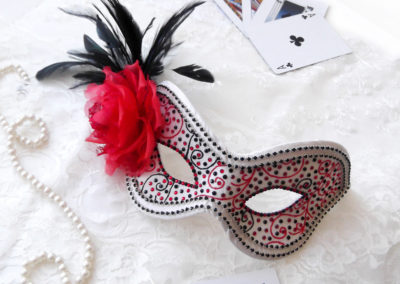 Dia De Los muertos Masquerade Ball Mask
