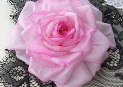Pale Pink Silk Rose
