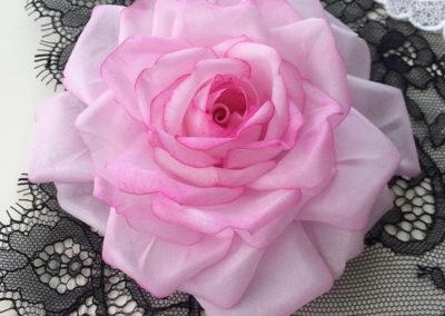 Pale Pink Silk Rose