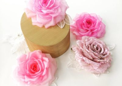 Hand Crafted Silk Flowers