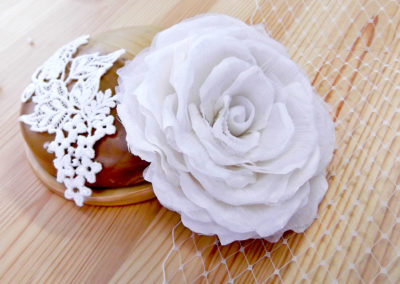 Silk Organza Rose