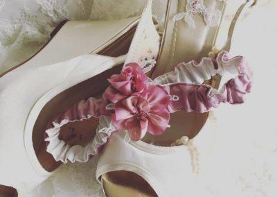 Woodrose Pink Garter
