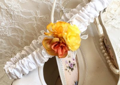Autumn Wedding Garter